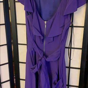 bebe Dresses - Very flattering and feminine zip up dress.